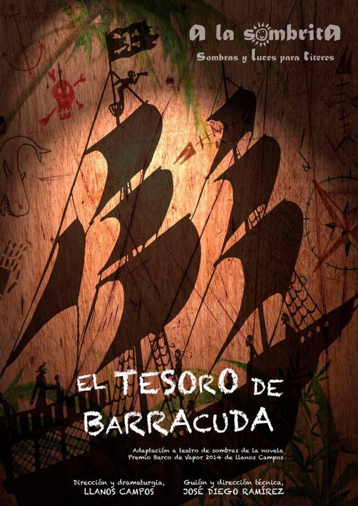 El-Tesoro-De-Barracuda_A-la-Sombrita_Cartel