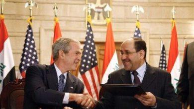 صورة لا وجود لإتفاقية أمنية بين العراق وأمريكا !!! فماذا إذن ؟!
