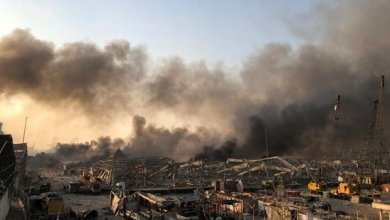 """صورة كيف تعاطى """"حزب الله"""" مع تفجيرات بيروت؟"""