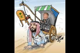 صورة ترامب يبشر بانضمام السعوديّة للتطبيع والجامعة العربيّة تسقط مشروع قرار إدانة الإمارات