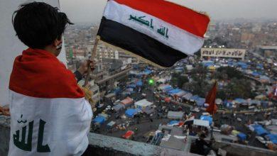 صورة رسالة بلسان كل عراقي