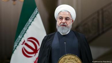 صورة روحاني: اميركا تستخدم اكثر السياسات عدوانية واجرامية وارهابية ضد الشعب الايراني