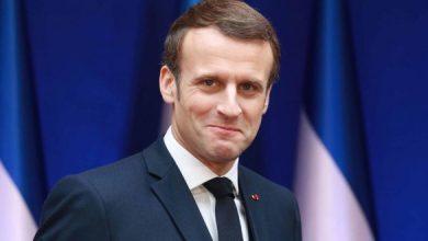 صورة إيمانويل ماكرون الفرنسي الأكثر حماقة