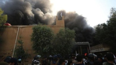 صورة دلالات حادثة حرق مقر البرزاني