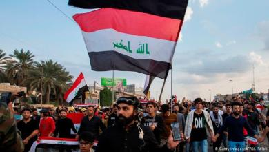 صورة النتائج والموشرات لتظاهرات 25- تشرين