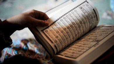 صورة الوصف القرآني للمهرولين إلى التطبيع مع الكيان الصهيوني