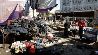 صورة إستطلاع في اليمن حول  العملية الإرهابية التي حدثت مؤخرا في بغداد