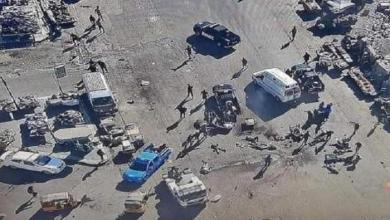 """صورة تفجيرات بغداد….داعش  سيف """"إسرائيل""""المسموم"""