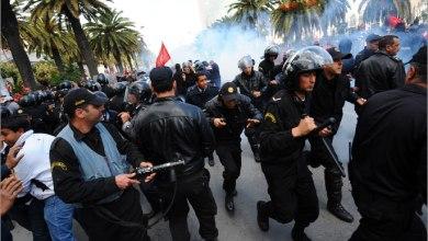 صورة تونس على صفيحٍ ساخن.. مواجهات بين الأمن التونسي والمتظاهرين لليوم الثاني على التوالي