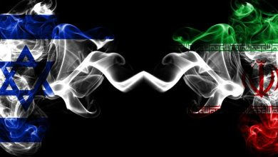 """صورة تهديد اسرائيل و""""ساعة طهران""""!"""