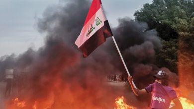 صورة الهدف في استمرار التظاهرات : المشروع الامريكي الدائم  ( الحرب الشيعية – الشيعية )