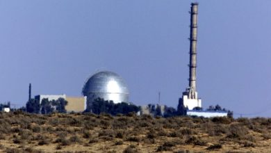 صورة المفاعل الإسرائيلي والتجاهل الدولي