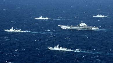 صورة أول تحرك عسكري لبايدن… أمريكا ترسل مدمرة إلى المضيق الفاصل بين تايوان والصين
