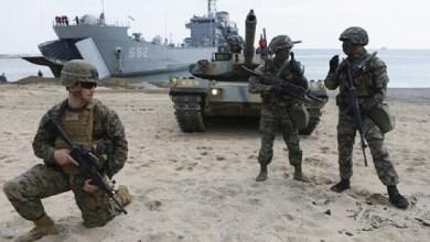 صورة مناورات عسكرية أمريكية في مواجهة الصين وروسيا… لاسترداد الهيبة…