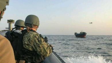 صورة البحرية الأمريكية والسواحل اليمنية