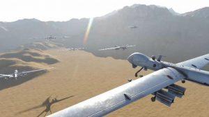 صورة تصاعد استهداف مطارات العدو السعودي رد فعل دفاعي