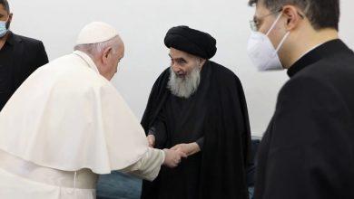 صورة تجليات القمة الروحية بين النجف والفاتيكان لقاء البابا والسيستاني