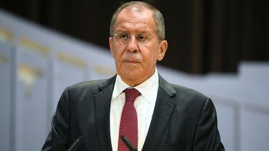 صورة لافروف يكشف رد روسيا على العقوبات الأمريكية الجديدة