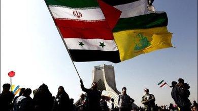 صورة دول محور المقاومة رأس الهرم لخيمة الحرية والصمود