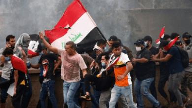 صورة الكيان الصهيوني شريك في كل الجرائم التي تُرتكب ضد العراقيين