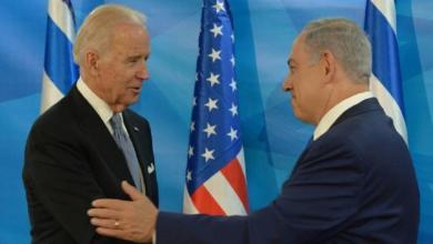 """صورة نتنياهو ل بايدن: إيران ستدمر """"إسرائيل"""""""