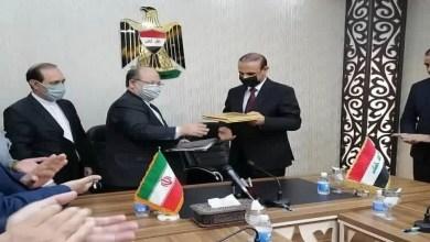 صورة بعد توقيع وزيري العمل..طهران تكشف تفاصيل الوثيقة المشتركة للتعاون الاقتصادي بين إيران والعراق