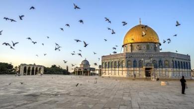 صورة الم غُلبت اليهود…. وفي القدس كتبنا حتماً سنعود