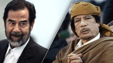 صورة اختراع الأبطال والشهداء :صدام والقذافي نموذجا