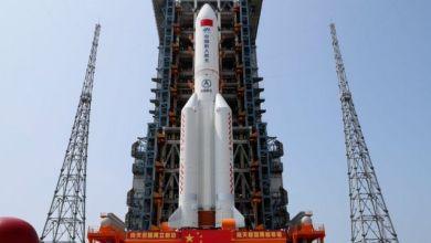 صورة الصاروخ الصيني.. تحليل خبراء عن حقيقة الصاروخ ومتى يسقط وأين!!