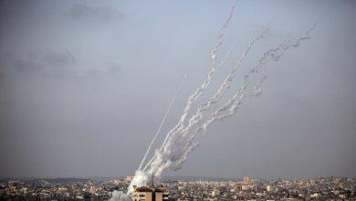 صورة رشقات صواريخ المقاومة.. مقاومة الخارج بعد مقاومة الداخل لمنع وأد ثورة القدس