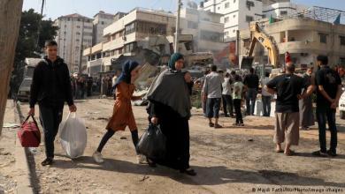 صورة الغزّيون ومسلسل التهجير: من حلم مقتول إلى آخر