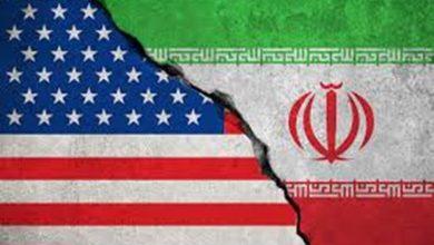 صورة حرب اميركا في ميادين مقاومة الغزاة وليس في طهران