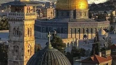 صورة هذا هو عيد الفطرالمعهود للامة بالقدس وفلسطين واليوم لموعود بالتية والشتات والهزيمة لليهود