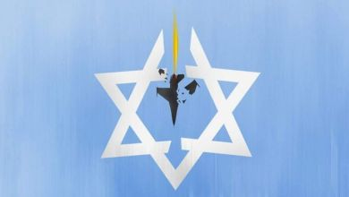 صورة الاشباع المبكر: الشخصية اليهودية مذعورة