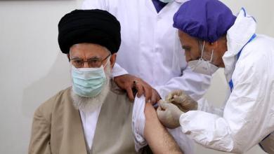 """صورة """" دلالات  أخذ الإمام الخامنئي اللقاح الإيراني """""""