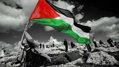 صورة يجب أن نُزيل العقبات عن طريق تحرير فلسطين نظام آل سعود العقَبَة الكُبرَىَ