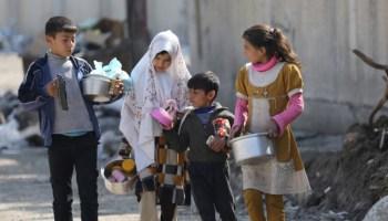 صورة المقايضة بدماء أطفال اليمن