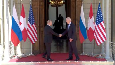 صورة قمة بايدن بوتين في جنيف.. اتفاق على عودة السفيرين