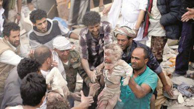 صورة ضحايا العدوان السّعودي- الإماراتي المدعوم أمريكياً على اليمن