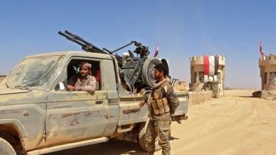 صورة قوات صنعاء يعلنون شن هجوم واسع بعشر طائرات على معسكر للتحالف قرب الحدود مع السعودية