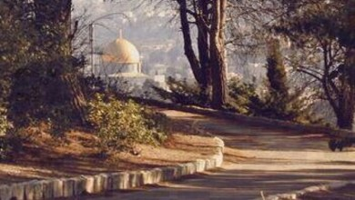 صورة طريق القدس من مكة..