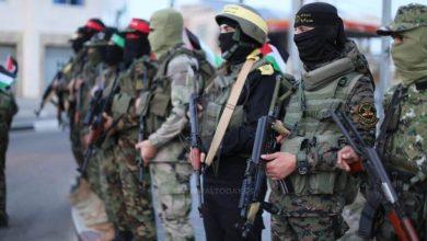 صورة المقاومةُ الفلسطينيةُ تضيقُ على مسيرةِ الأعلامِ الإسرائيليةِ