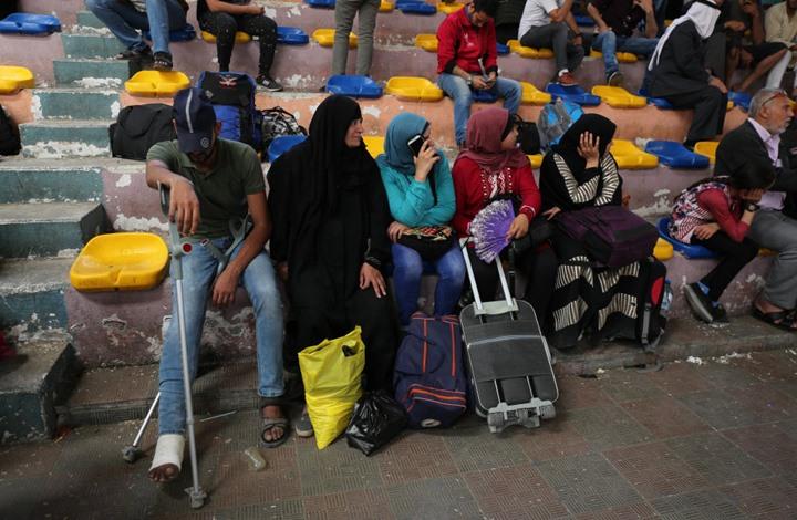 صورة صور من القهر على الحواجز المصريه في الطريق الى غزه