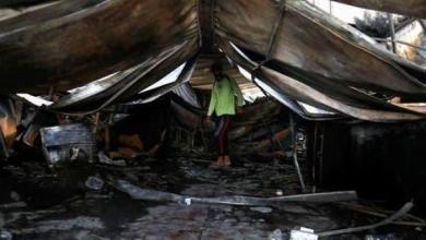 """صورة """"شهيد الام"""" سنوات من الصراع مع الإرهاب البعثي الوهابي تنتهي بحريق الناصرية !"""