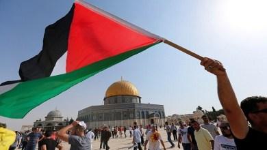 صورة فلسطين هي القضية الأولى للأمة