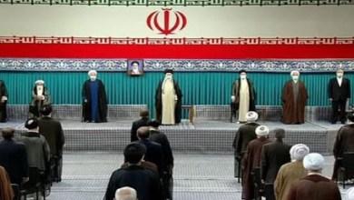 صورة دعوة لرئيس الوزراء لحضور مراسم تنصيب الرئيس الإيراني