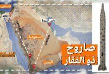 صورة رسالة رأس التنورة: صواريخ اليمن تطال اسرائيل عملياً