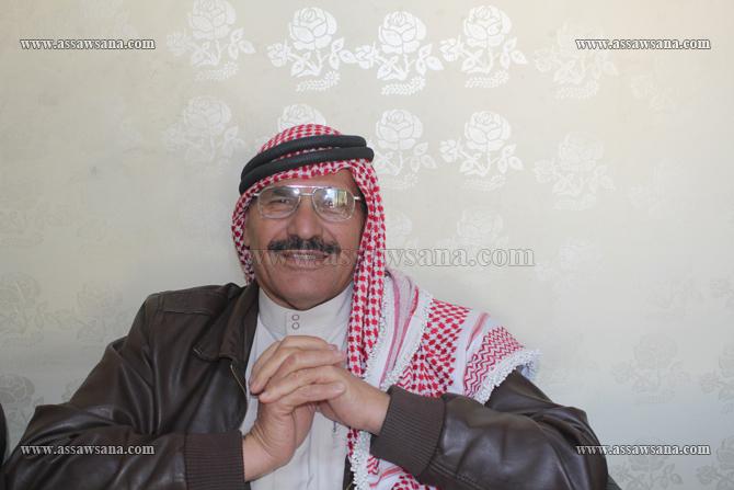 """صورة اللواء الركن""""الراعي""""غازي عربيات بطل معركة الكرامة الخفي"""