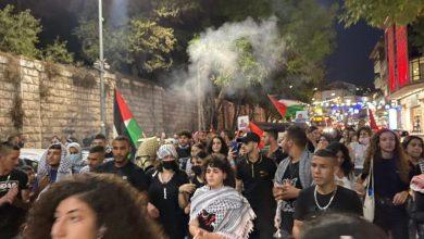 """صورة عملية """"نفق الحرية"""": تظاهرات في الناصرة والاحتلال يمدّد اعتقال الأسرى"""