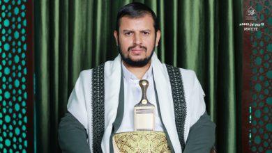 صورة السيد القائد في ذكرى المولد النبوي الشريف .. خطاب حسم لا يقبل بالمساومات